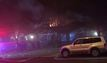 3 injured in Denver row house fire