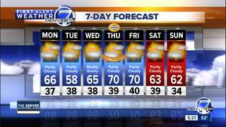 Light rain and snow Tuesday, then dry