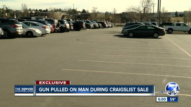 Aurora man held at gunpoint during Craigslist deal
