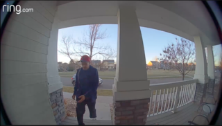 Porch pirate steals Thanksgiving groceries