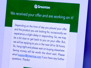 Greentoe 'name your price' app promises savings