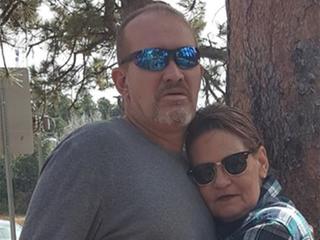Husband thanks driver who stayed at crash scene