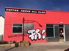 ink! Coffee shop vandalized a day after 'joke'