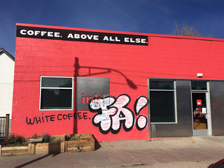 ink! Coffee shop vandalized a day after 'joke'