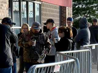 Shoppers crowd malls, stores on Black Friday