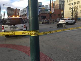 3 hurt in downtown Denver crash, police say