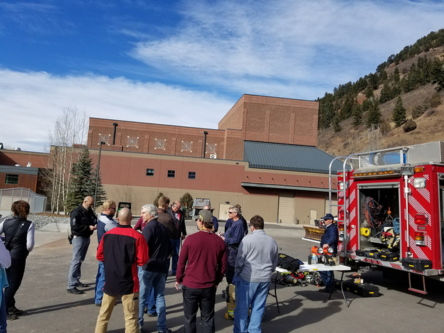 Telluride High School reopens following