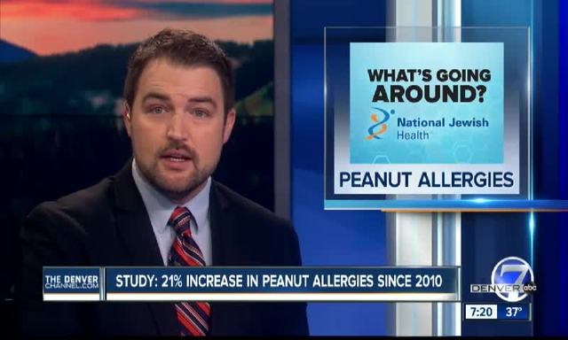 Increase In Peanut Allergies