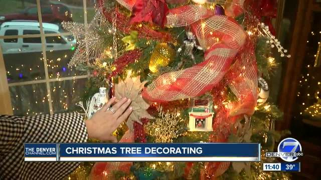 7 tips for decorating a christmas tree