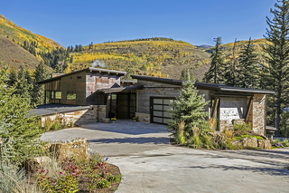 $12M home in Vail offers rustic but modern style