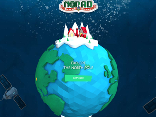 NORAD's Santa tracker website is now live