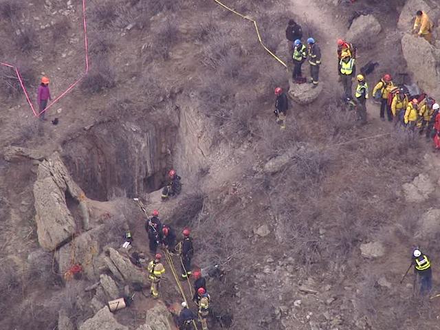 Crews rescue teenage boy who fell into a Colorado mine shaft