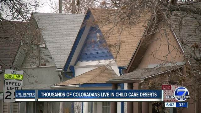 Thousands of Coloradans live in child care deserts
