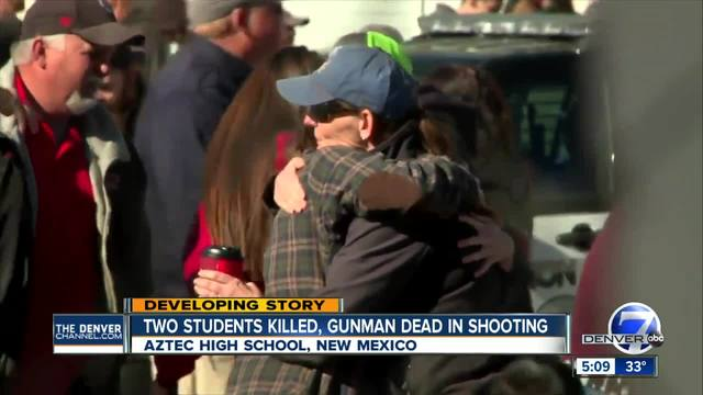 Students hid in classrooms during N-M- shooting that left 3 dead