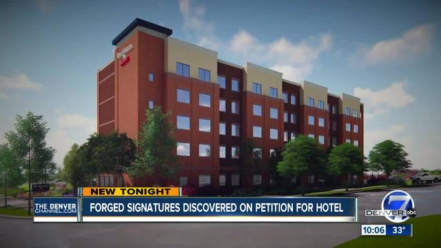 Fake signatures show up on petition for new tech center hotel