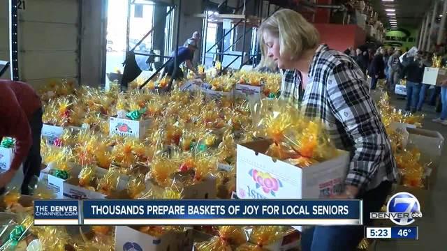 Baskets of Joy delivered to 5-280 seniors around the Denver metro area