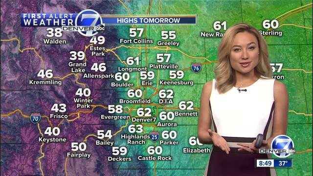 Weather- Warm and dry through the weekend in Colorado
