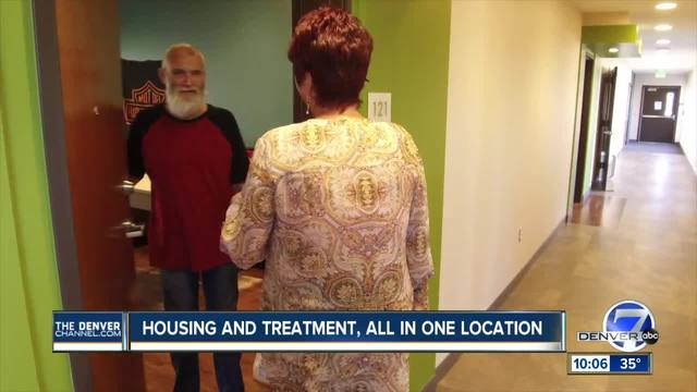 Inside the Sanderson Apartments- a new option for those facing homeless…