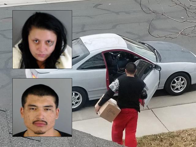 Suspected porch pirates arrested