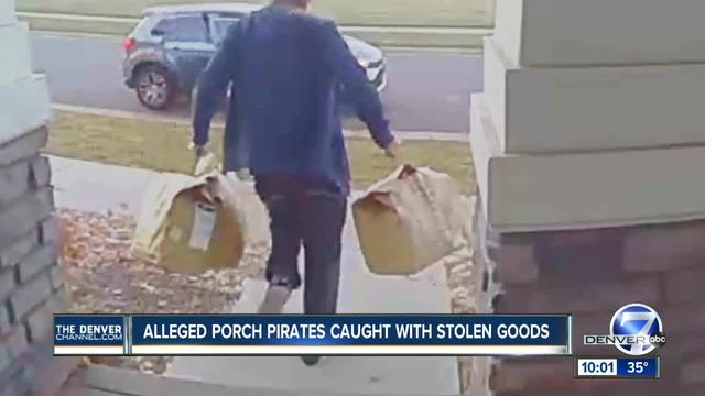 Suspected porch pirates arrested in Thornton amid alarming increase in…
