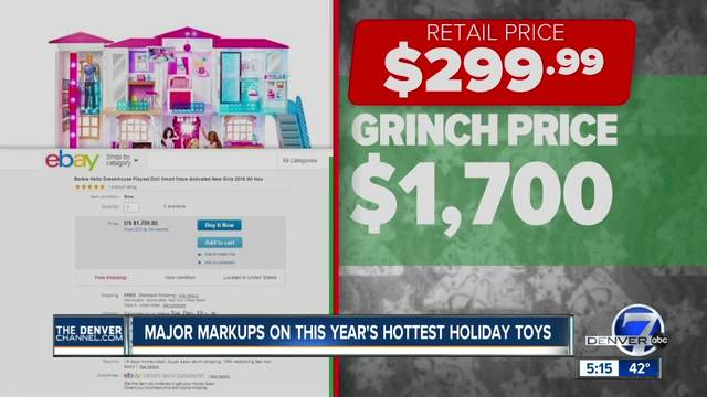 -Grinch bots- are buying up this year-s hottest toys and reselling them…