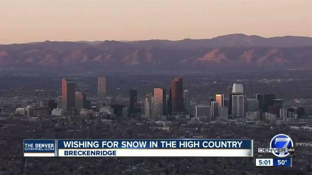 Denver on verge of breaking longest streak of snow-free days
