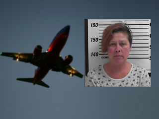 Complaint: Woman assaulted son on flight