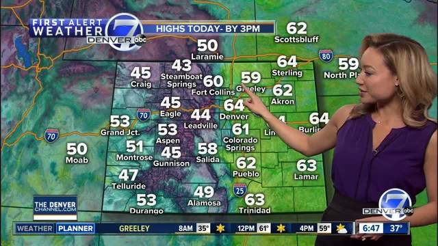 Dry weather continues for Denver and the region Tuesday