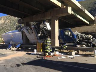 Victim identified in fatal semi crash on I-70
