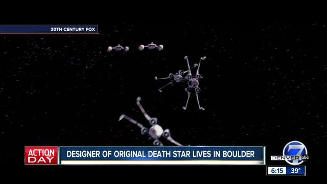 Star Wars fans- The creator of the original -Death Star- design lives in Boulder