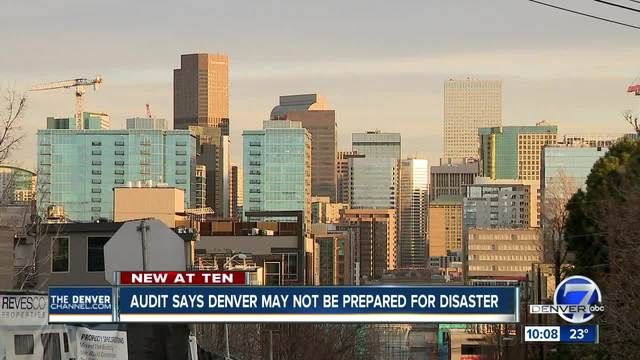 Denver might not be adequately prepared for a disaster- audit shows