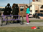 CU students build bike for child with autism