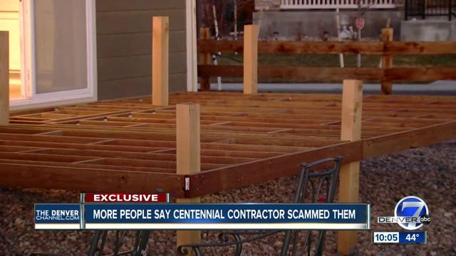 Arapahoe County deputies are investigating a contractor after Denver7…