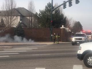Denver firefighter hurt after fighting campfire