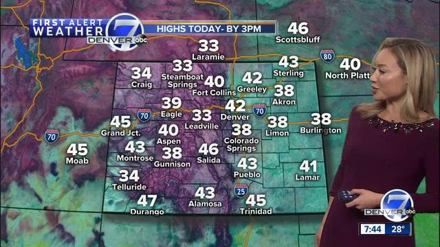 Deep freeze shows up on 7 day in time for start of winter