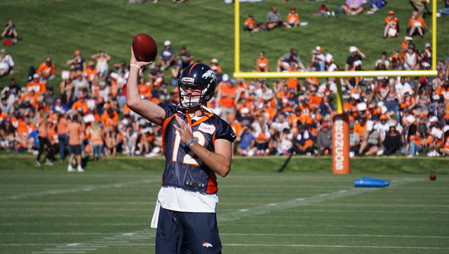Broncos want to see Paxton Lynch before season ends