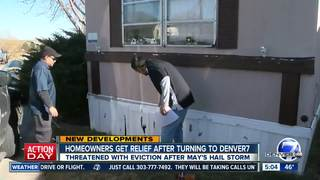 Homeowners facing eviction get relief