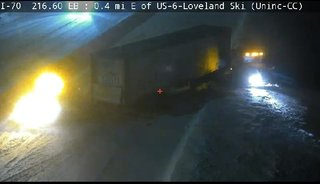 EB I-70 reopens after crashes near tunnels