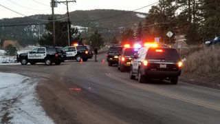 Barricaded Evergreen suspect in custody