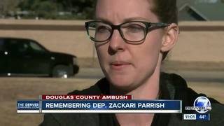 Woman credits fallen deputy for saving her life