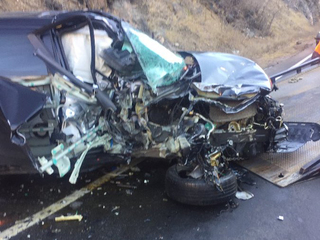 Hwy 6 reopens following Clear Creek Canyon crash