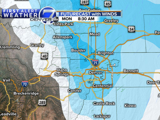 First Alert Action Day: Monday, snow/cold