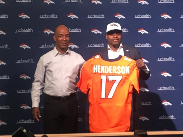 Broncos WR Carlos Henderson arrested on marijuana charge