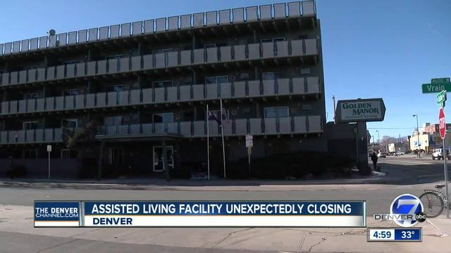 Denver assisted living facility closing unexpectedly