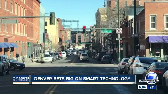 Denver is going full speed on smart technology to unclog city streets-…