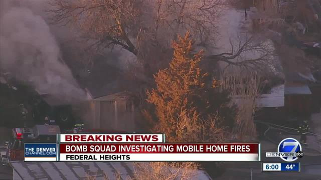 Officials- Mobile home in Federal Heights set ablaze by man who admitted…
