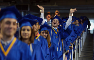 State's graduation rate improves slightly