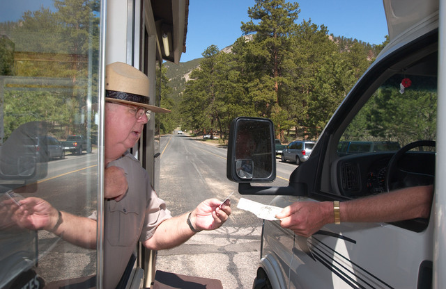 Yosemite National Park open but services are curtailed