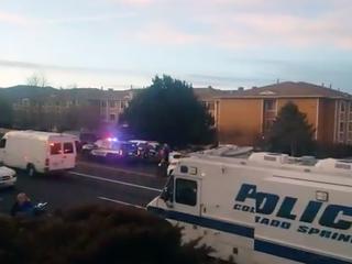 CSPD responds to 'active shooting' scene