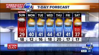 A major winter storm impacting Colorado